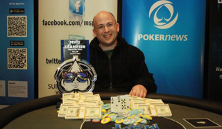 Ken Baime Wins 2014 Mid-States Poker Tour Majestic Star Casino for $77,681