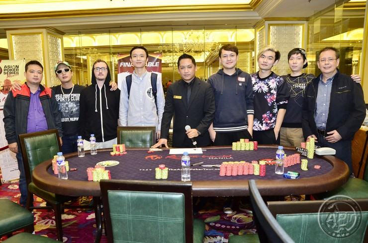 2015 APT马尼拉主赛决赛桌诞生  新加坡选手Yah Loon领衔八强晋级